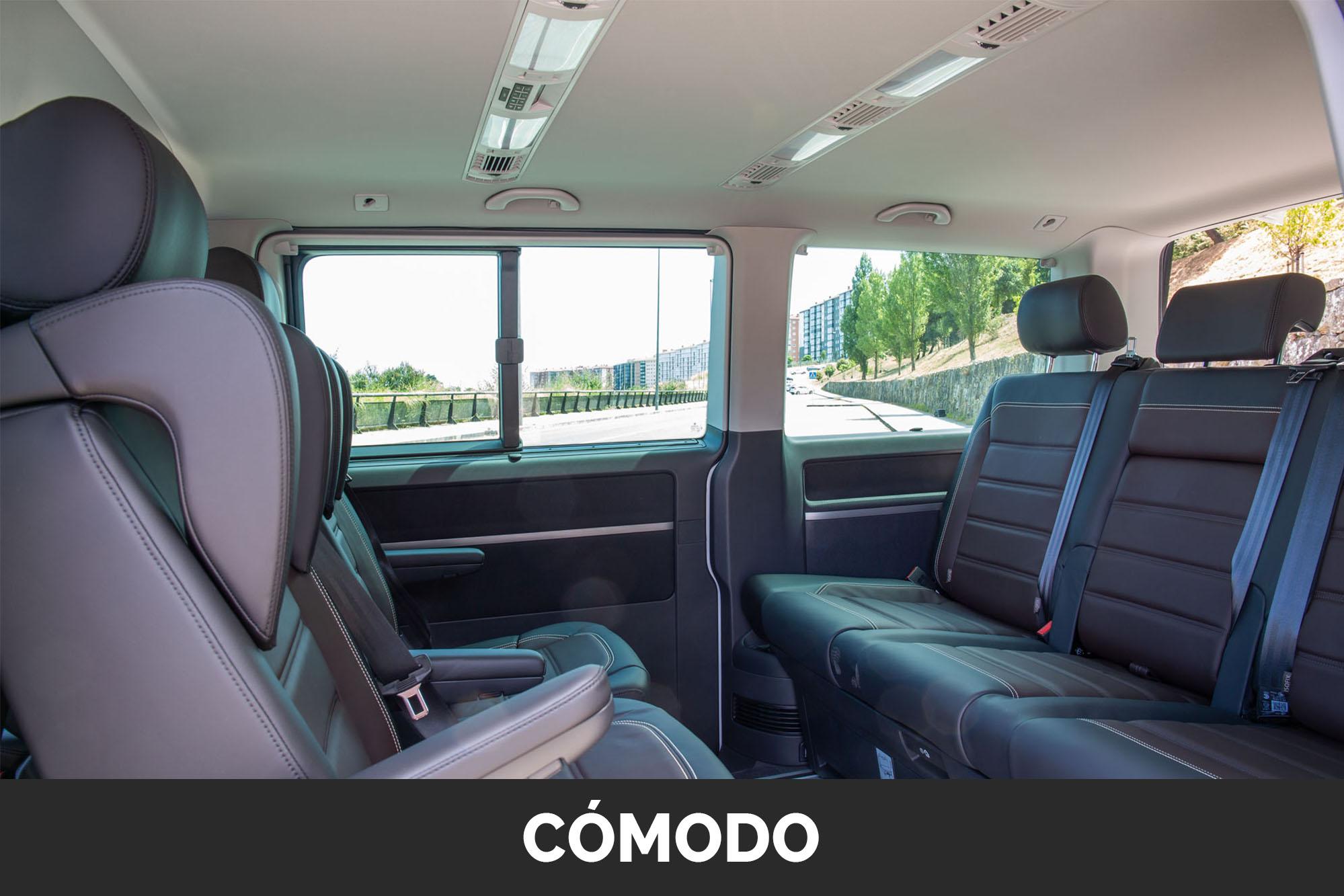 Interior Taxi Vila de Noia 2